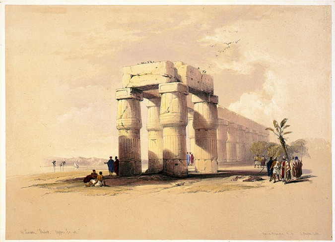Ancient Thebes Of Egypt