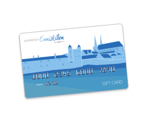 Enniskillen Gift Card, Experience Enniskillen, the perfect gift, reward, local business, support local businesses