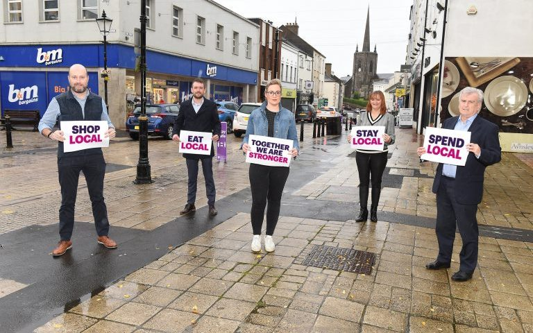Together We Are Stronger, Stronger together, shop local, Enniskillen, Enniskillen BID, Fermanagh,