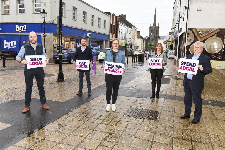 Together We Are Stronger, Stronger together, shop local, Enniskillen, Enniskillen BID, Fermanagh,