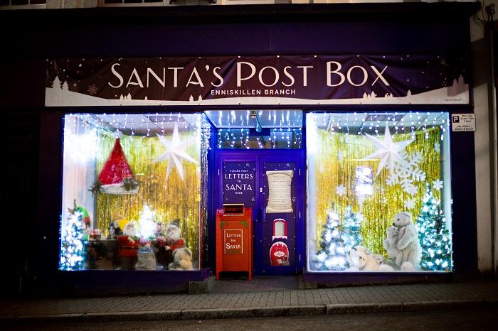 Santa's Post Box, Enniskillen Branch Santa's Post Box, Enniskillen, Fermanagh, Activities for Kids, Christmas, Entertainment, Christmas magic, Festive time, Santa, Letters to Santa,