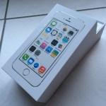 Unboxing et Test de l'iPhone 5S