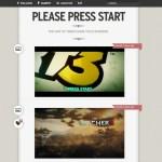 "L'art du ""Press Start"""