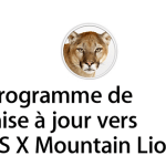 Programme de mise à jour vers Mountain Lion