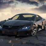 Mercedez Benz SF1: La voiture de batman ?