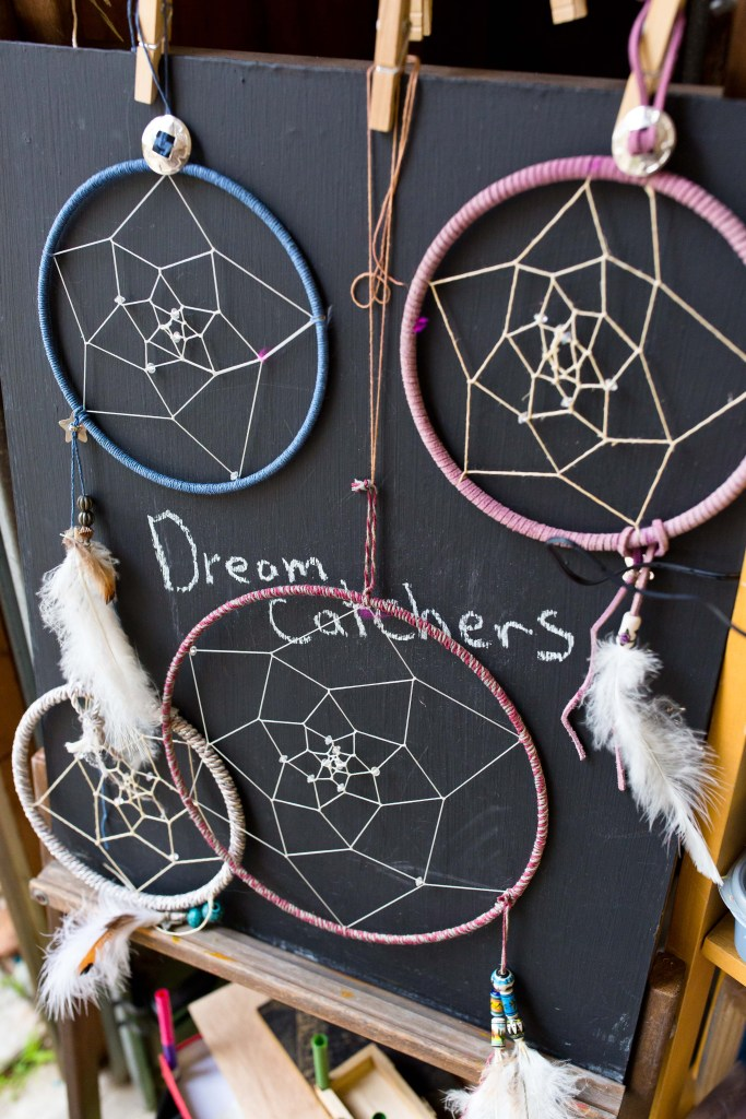 dream catchers made by tiny hands