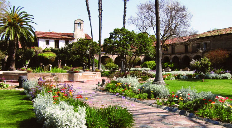 photo courtesy Mission San Juan Capistrano