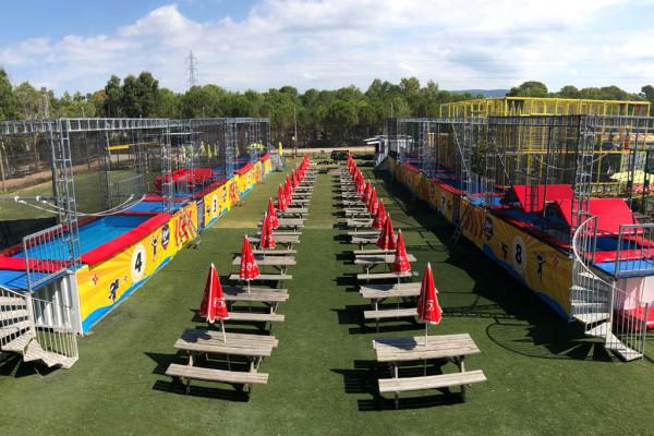 ninja training parc aquatique