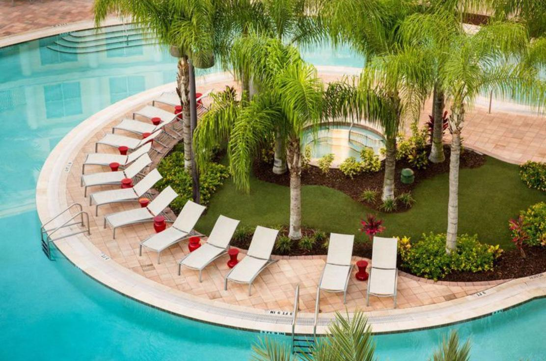 hotels with full kitchens in orlando florida square pedestal kitchen table resorts motels experience kissimmee melia suite hotel at celebration