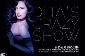 The return of Dita Von Teese to the Crazy Horse