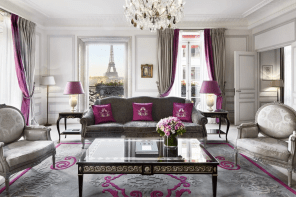The Plaza Athénée: Haute Couture Hotspot in Paris