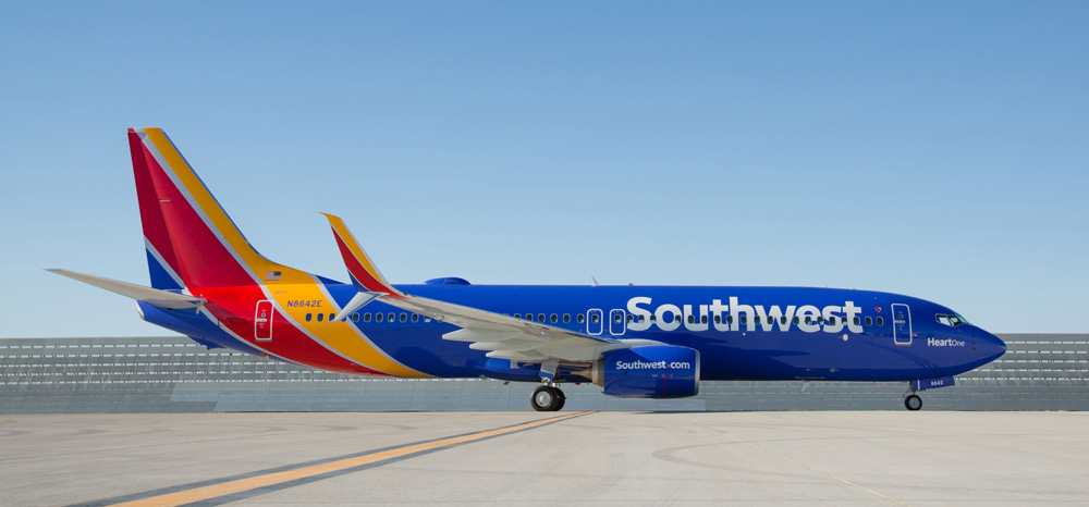 Southwest Airlines Offer Complimentary In Flight Movies On All Flights