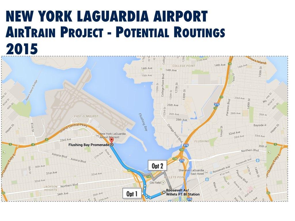 New York LaGuardia International Airport Improvement Update - Nyc map laguardia
