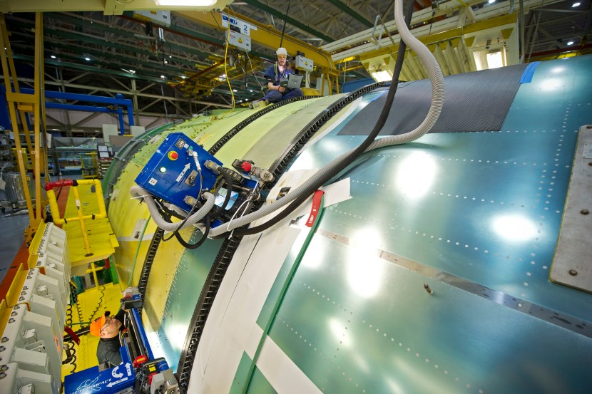 777 Automated Assembly and Wings Production