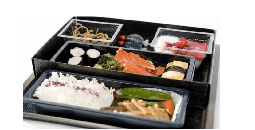 Sample KLM Enhanced Economy Meals