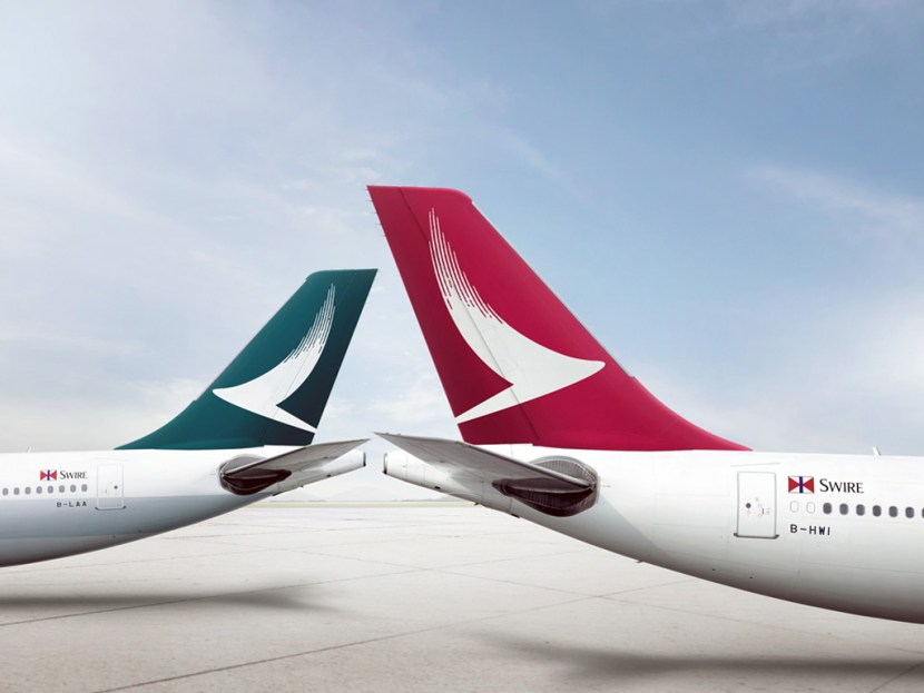 Cathay Dragon Livery Tail Design