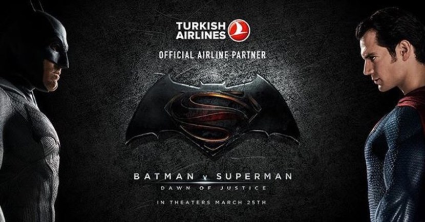 Turkish Airlines Batman v Superman- Dawn of Justice