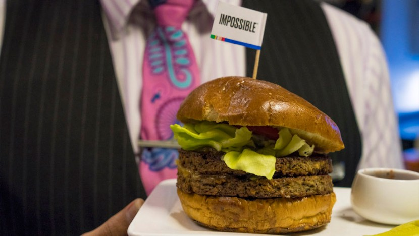 Impossible Burger, limited edition vegan burger to be served by Air New Zealand from Los Angeles to Auckland for a limited time