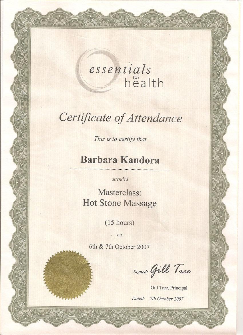 Experienced Massage Therapist Barbara KandoraWalker