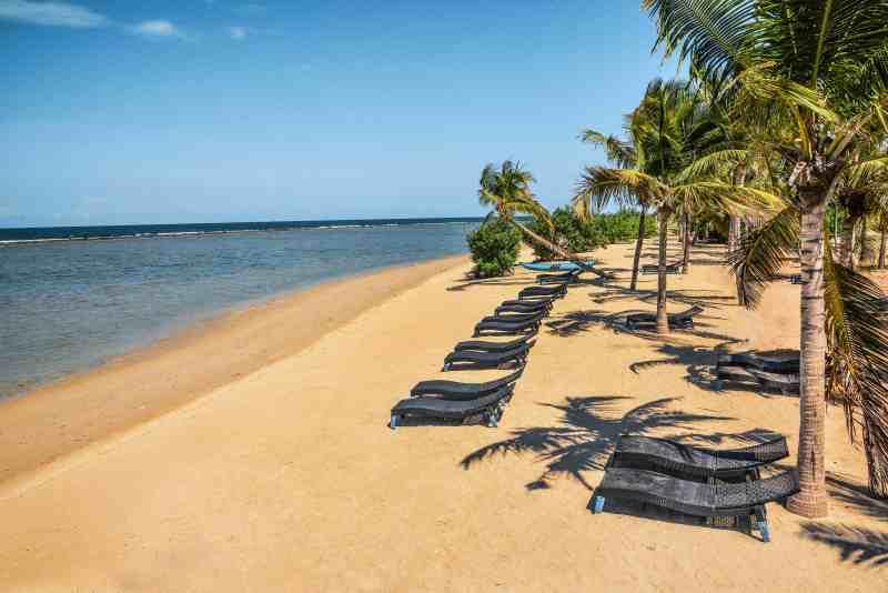 Beach at Sun Aqua Pasikuda
