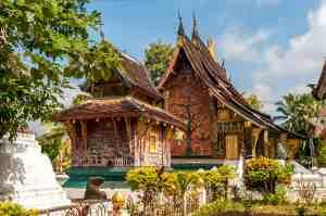Wat Xiong in Luang Prabang