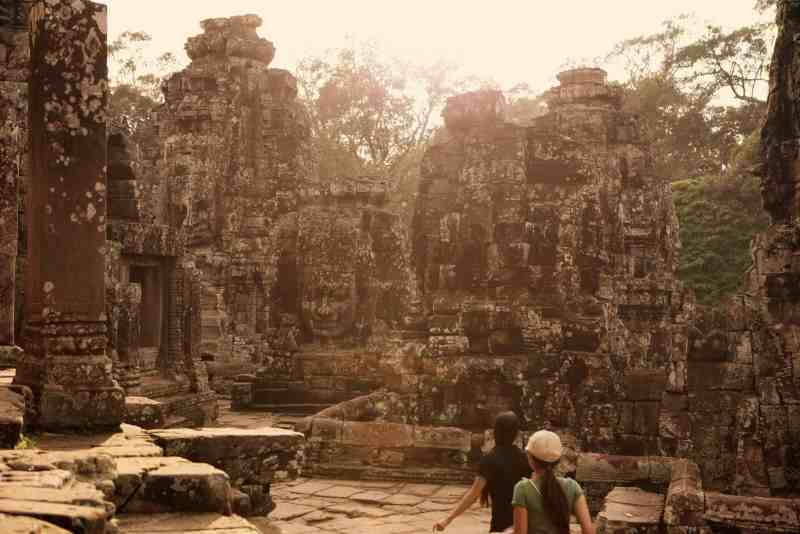 Angor Bayon, Cambodia, Southeast Asia