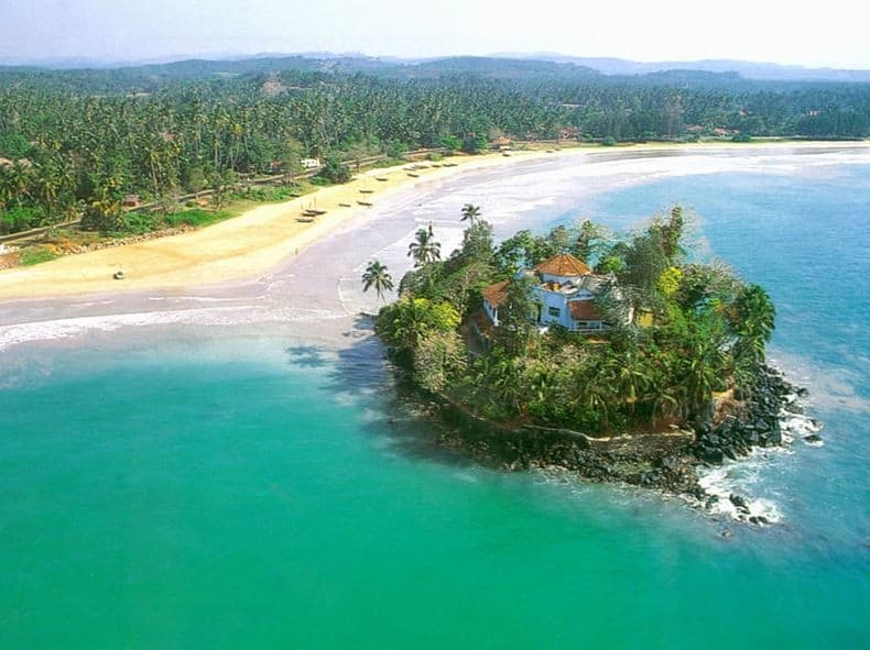 Aerial View of Taprobane