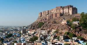 Meherangarth Fort, Jodhpur, Rajasthan, India.