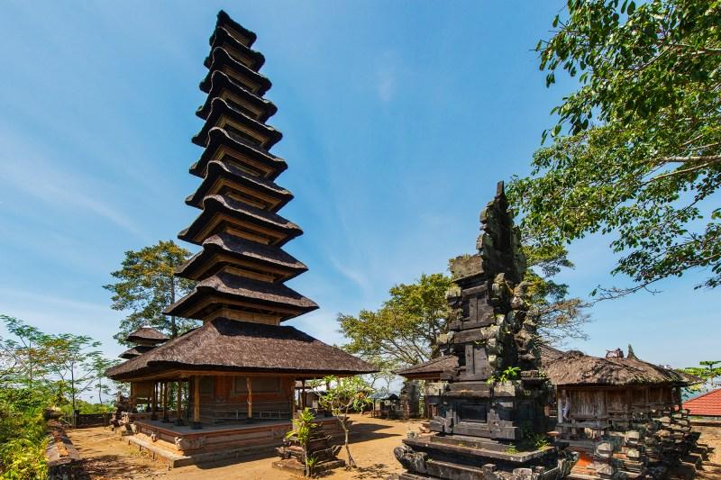 Temple in Sidemen, Bali