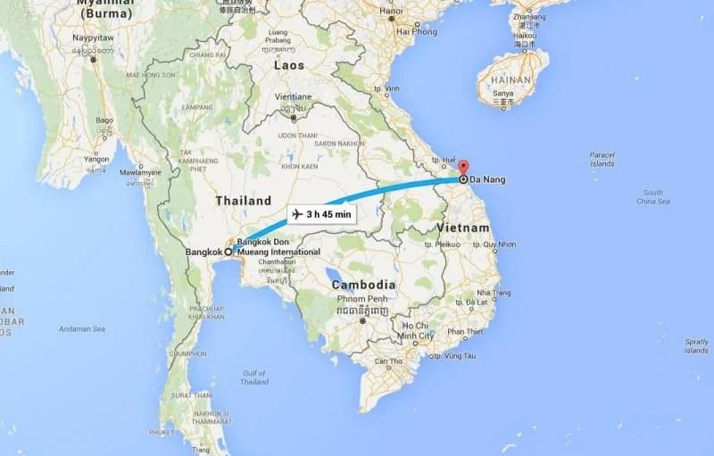 BKK to Danang