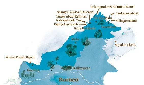 The Best Beaches Of Borneo Experience Travel Group Blog