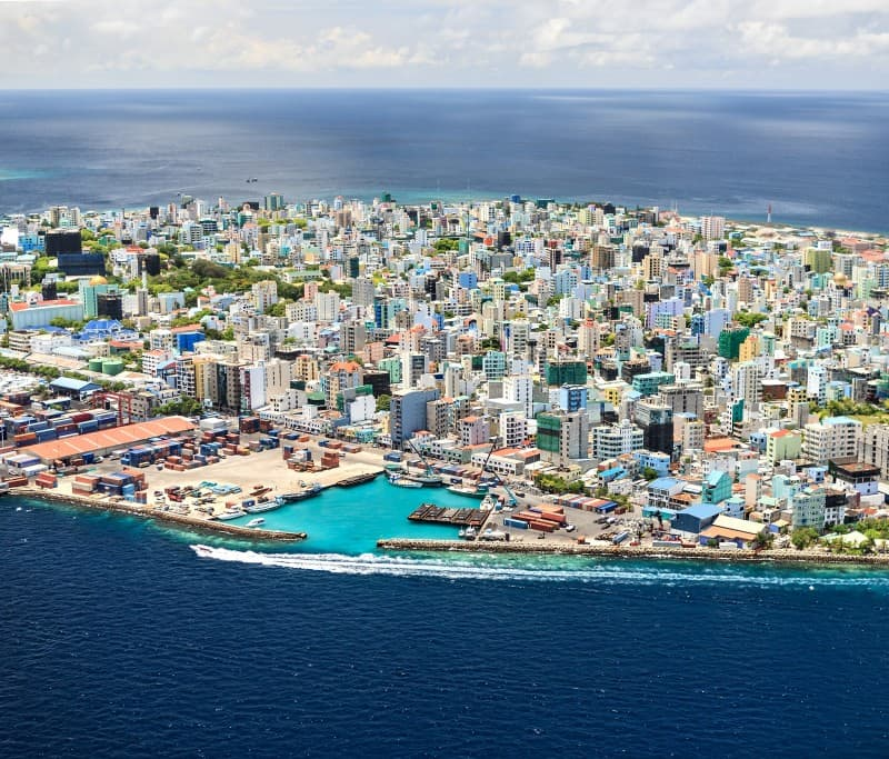 Male,capital of the Maldives Republic