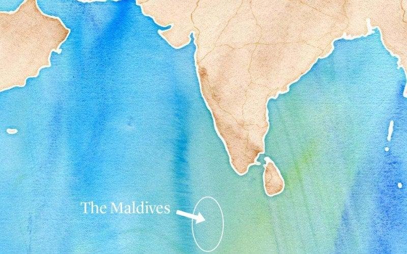 Maldives Map copy
