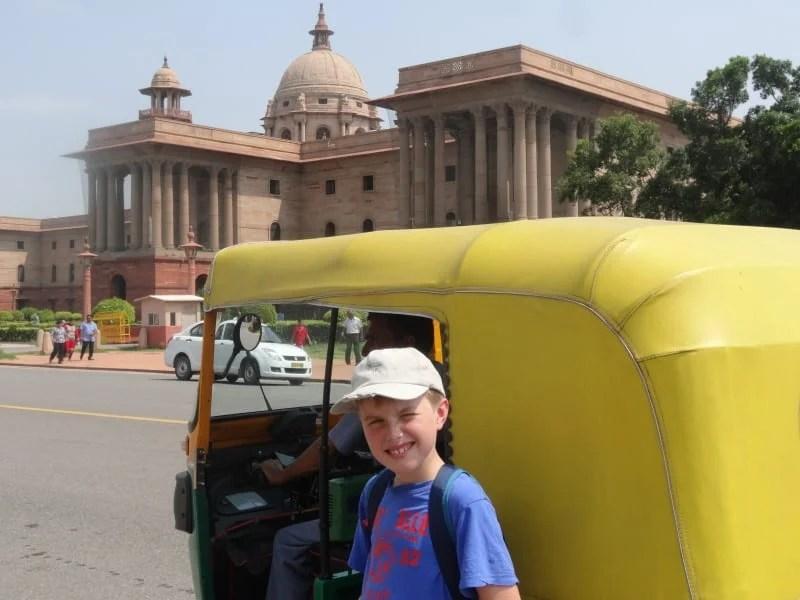 Ed Delhi tuk tuk