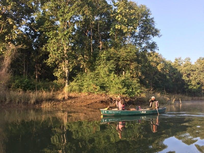 Canoe safari in Satpura (2)
