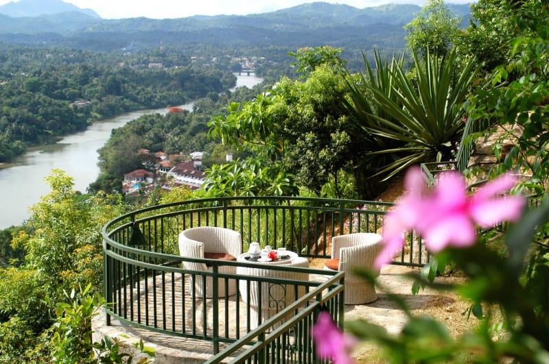Tea on the veranda? Don't mind if we do. Villa Rosa, Kandy