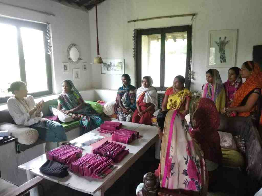 Women Tackling Period Poverty in Madhya Pradesh