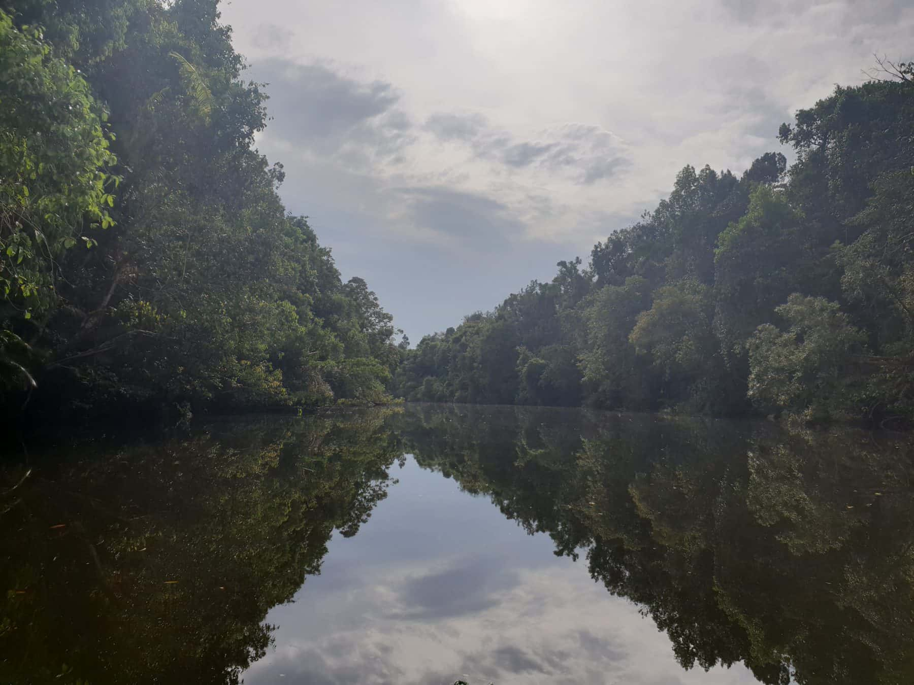 Beautiful scenery in the Cardamom Mountains makes this a perfect spot for kayaking