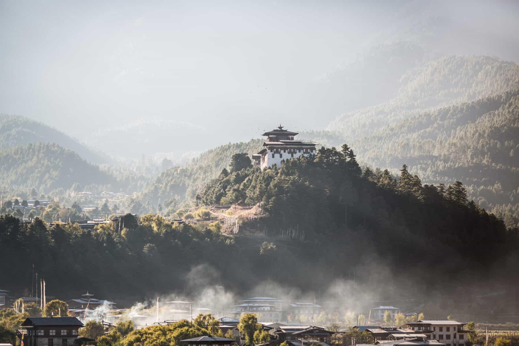 Bumthang Dzong in Bhutan