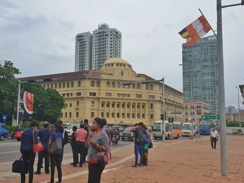 Central Colombo - Galle Face
