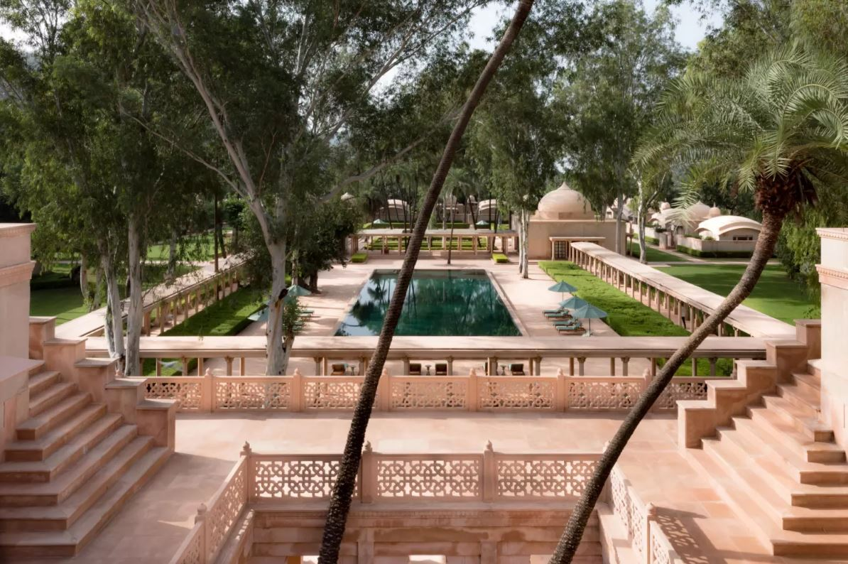 Amanbagh is one of the best luxury hotels in India