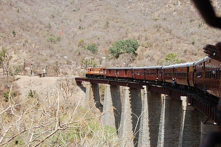 The monkey train is one of the best train journeys in India