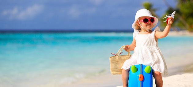 10 imprescindibles para viajar con un bebé