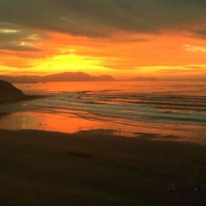 Playa salvaje sopelana en Vizcaya