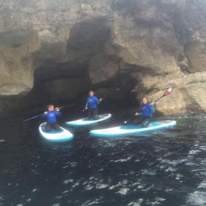 Curso de paddle surf en Suances
