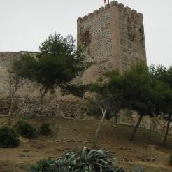 Castillo de Sohail en Fuengirola en la Costa del Sol en Málaga