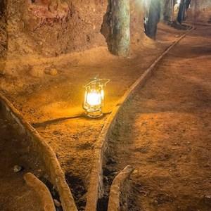 Mina en Olmos de Atapuerca en Burgos