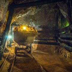Vagón en la Mina Esperanza en Olmos de Atapuerca