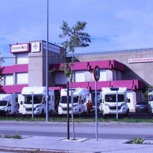 Parking para autocaravanas en Jerez de la Frontera