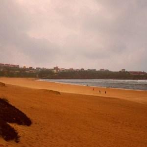 La Playa de la Concha en Suances